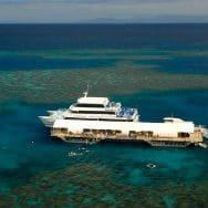 smallerSunlover Reef Cruise_Pontoon Aerial