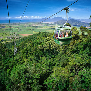 skyrail rainforest cableway tropic wings cairns tours
